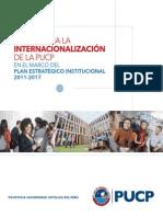 Folleto Pautas Para La Internacionalización de La PUCP en El Marco Del PEI - DARI
