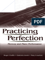 Practicing perfection