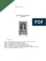 Literatura Romana (Apuntes).1