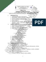 Tematica Tehnica Farmaceutica 2010