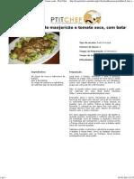 Frango Ao Pesto de Manjericão e Tomate Seco, Com Batata Sauté - Petit Chef