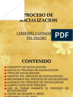 Proceso de Social i Zac i On