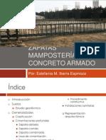 Zapatas Mampostería y Concreto Armado - IBARRA