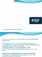 #1 Kuliah Basic Principle and Lab Test for Thrombosis and Fibrinolysis