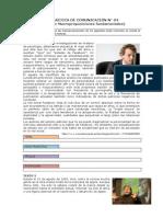 Práctica de Comunicación n (Tema. Idea Principal)