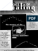 Voice of Healing Magazine, April 1954 - Ufos