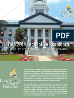 2014 LFN Florida Legislative Scorecard