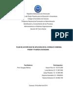 Proyecto Plan de Accion y Cronograma