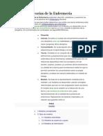 Modelos y Teorias de La Emfermeria