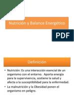 Nutrición y Balance Energético