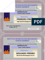 Copia de Diplomas_PremioBarbonBlog_2014.Ppt (1)