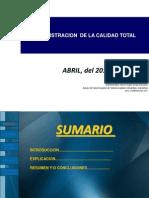 Adminst. Estrategica - Calidad ToTal - 6