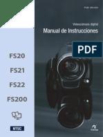Manual Canon FS200