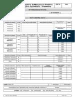 Form.101 Rev.1 - Relatório de Manutenção Preditiva (Erro Geométrico)