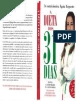 Dieta Dos 31 Dias - Ágata Roquette