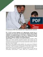 13/05/14 oaxaca.me Conmemora SSO día mundial de la hipertensión arterial