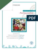 Alianzas Publicoprivadas Agroindutria Peru-fao