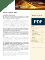Gold Demand Trends 3Q 2009
