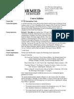 ET 611 Intermediate Greek Syllabus (2013-14)