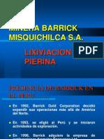Lixiviacion Pierina  MIisquichilca