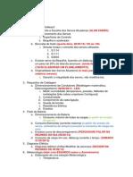 Relatório Elétrica, Detalhamento de Plano de Execução