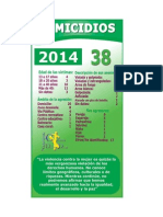Femicidios Enero-Mayo 2014 cddcatolicas de Nicaragua.pdf