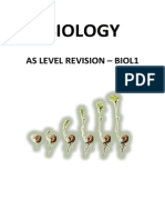 Biology UNIT 1 Revision Guide