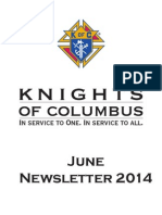 Arkansas Knights of Columbus June Newsletter 2014