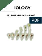 Biology UNIT 2 Revision Guide