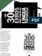 Os 300 Erros Mais Comuns Da Língua Portuguesa [2012][PDF]