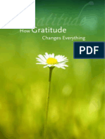 How Gratitude Changes Everything