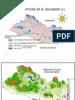 Mapa Climas de El Salvador