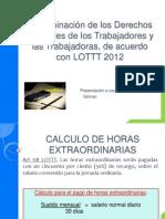 Reforma LOTTT 2012 Parte II