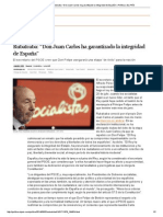 """06El Rey Abdica_ Rubalcaba_ """"Don Juan Carlos Ha Garantizado La Integridad de España"""" _ Política _ EL PAÍS"""