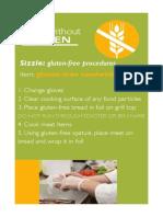 Sizzle GlutenFree Sandwiches
