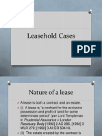 Leasehold Cases