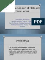 Identificación Con El Plato Del Bien Comer Clase Final