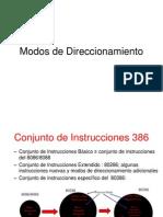 Direccionamiento de Datos Del Microprocesador