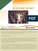 5 Formas de Ser Mejor Manager