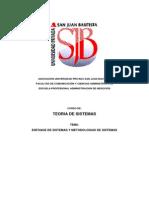 Clase 1 - Tgs - Enfoque de Sistemas y Metodologias de Sistemas