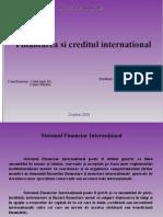 finantarea internationala