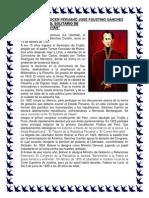 02 Día Del Prócer Peruano José Faustino Sánchez Carrión