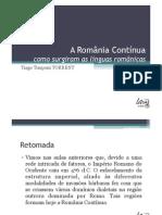 Línguas Românicas