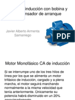 Motor de Inducción Con Condensador de Arranque
