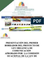 PROYECTO LEY DE COMUNICACIÓN