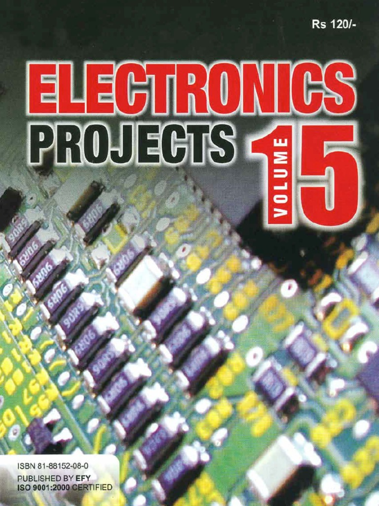 Electronics Projects Volume 15.Bak | Compact Cassette | Amplifier