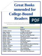 101 Great Books