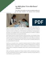 18/05/14 Enfoqueoaxaca Implementan SSO Plan 'Cero Rechazo' en La Sierra Norte