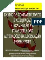 Palestra 22_Fiscalizacao Financeira_Adequacao Orcamentaria Das Alteracoes Na Legislacao
