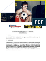 Bases y Condiciones - Promoción Mundial Western Union